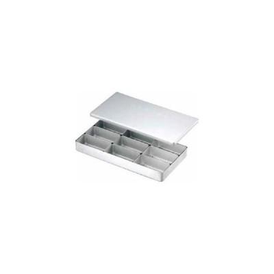 AKAO/アカオアルミ  アルミ検食容器 C型(飲食店用) C−9