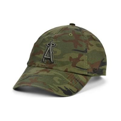 47ブランド メンズ 帽子 アクセサリー Los Angeles Angels Regiment CLEAN UP Cap