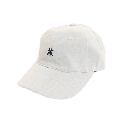 旅リネン刺繍キャップ 897PA9ST1712