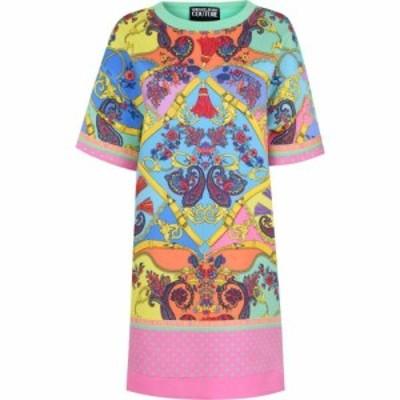 ヴェルサーチ VERSACE JEANS COUTURE レディース ワンピース シャツワンピース Tシャツワンピース ワンピース・ドレス Colour T Shirt Dr