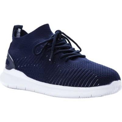 プロペット メンズ スニーカー シューズ Viator Sneaker Navy Knit Mesh