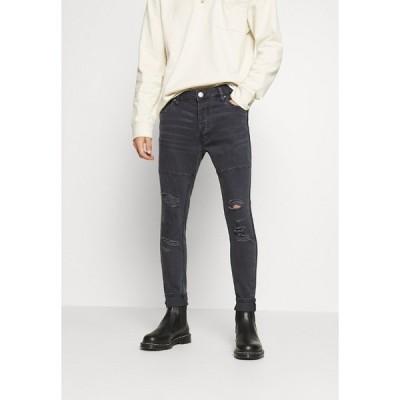 ブレーブソウル デニムパンツ メンズ ボトムス SHEERANCHAR - Jeans Skinny Fit - charcoal wash
