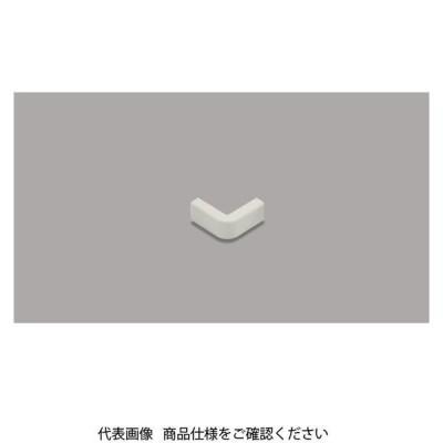 マサル工業 メタルモール付属品 エクスターナルエルボ 後付け型 A型 ミルキーホワイト A10513 1セット(30個)(直送品)