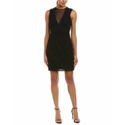 Nicole ニコール ファッション ドレス Nicole Miller Silk-Trim Sheath Dress 4