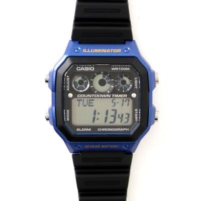 TETE HOMME / 【CASIO/カシオ】デジタルクロノグラフ MEN 時計 > 腕時計