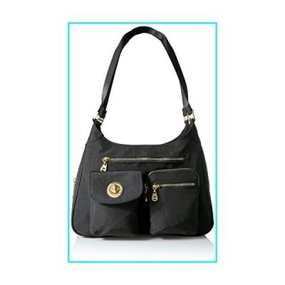 Baggallini womens San Marino Satchel, Black,One Size【並行輸入品】