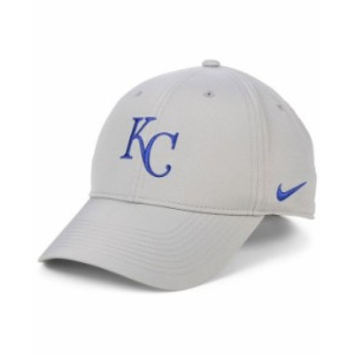 ナイキ メンズ 帽子 アクセサリー Kansas City Royals Legacy Performance Cap Gray