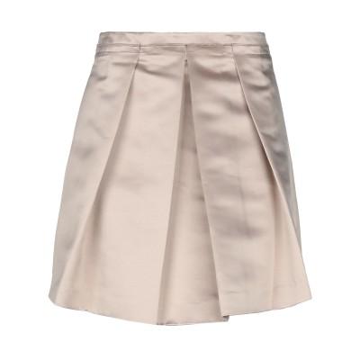 ツインセット シモーナ バルビエリ TWINSET ミニスカート サンド M 100% ポリエステル ミニスカート