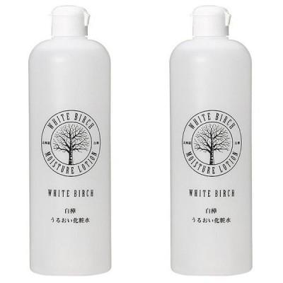 【セット】北海道アンソロポロジー 白樺うるおい化粧水 500mL 2個セット