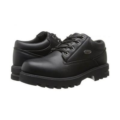 Lugz ラグズ メンズ 男性用 シューズ 靴 オックスフォード 紳士靴 通勤靴 Empire Lo WR - Black