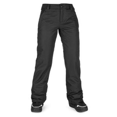 ボルコム レディース カジュアルパンツ ボトムス Volcom Frochickie Insulated Pants - Women's Black