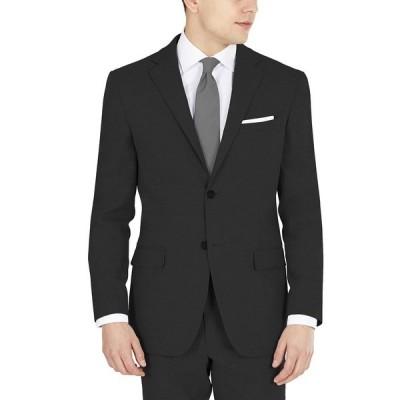 ダナ キャラン ニューヨーク ジャケット&ブルゾン アウター メンズ Men's Modern-Fit Stretch Suit Jacket Black