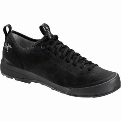 アークテリクス スニーカー Arcteryx Acrux SL Leather Approach Shoe Black / Black