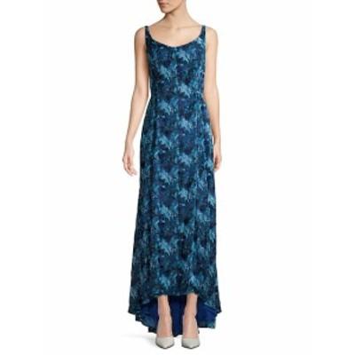 キャロライナヘレラ レディース ワンピース Floral Hi-Lo Gown