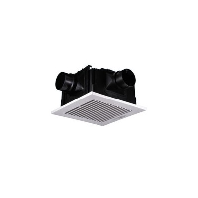 パナソニック 天井埋込形換気扇 ルーバーセット 2〜3室用 大風量形 常時・局所兼用 埋込寸法□320mm パイプ径φ100mm FY-32CTS8V