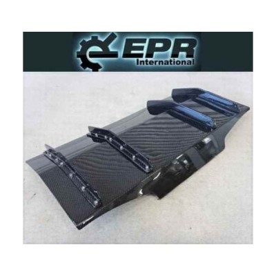 EPR ZN6 ZC6 86 BRZ GT86 FR-S カーボン リアディフューザー スプリッター フィン エアロ