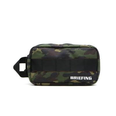 【ギャレリア】 ブリーフィングゴルフ ポーチBRIEFING GOLFDOUBLE ZIP POUCH−3ダブルジップポーチBG1812401 ユニセックス モスグリーン F GALLERIA