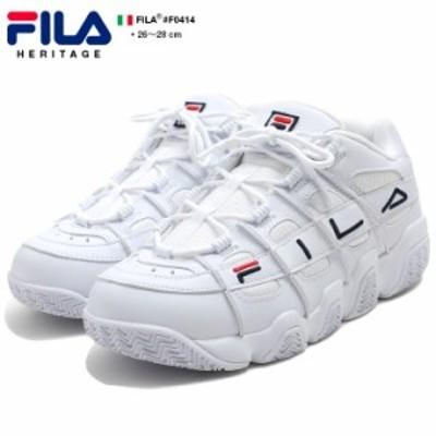 フィラ FILA BARRICADE XT LOW バリケードXT ロー ダッドスニーカー  ダッドシューズ テクノシューズ ローカット 靴 シューズ メンズ 白