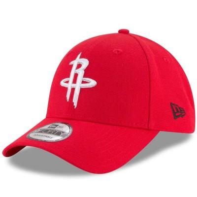 """ニューエラ メンズ キャップ """"Houston Rockets"""" New Era Official Team Color 9FORTY Adjustable Hat - Red"""
