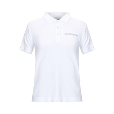 BEST COMPANY ポロシャツ ホワイト S コットン 100% ポロシャツ