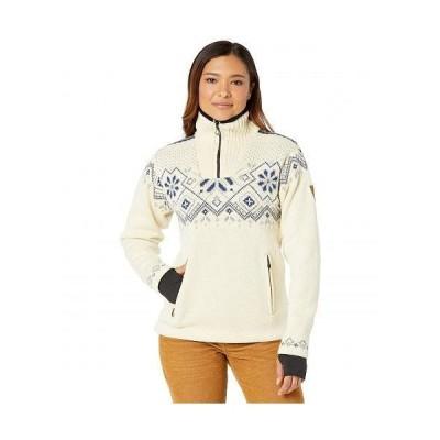 Dale of Norway ダーレ・オブ・ノルウェイ レディース 女性用 ファッション セーター Fongen Weatherproof Feminine Sweater - Off-White/Light Charcoal/Smoke