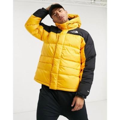 ザ ノースフェイス The North Face メンズ ダウン・中綿ジャケット アウター Himalayan down parka jacket in yellow サミット ゴールド