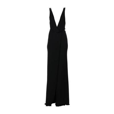 ディースクエアード DSQUARED2 ロングワンピース&ドレス ブラック XS レーヨン 100% ロングワンピース&ドレス