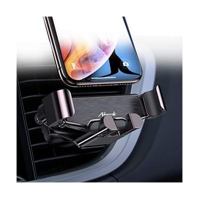 【並行輸入品】Arbrook 車載電話マウント エアベント重力電話ホルダー 車用 iPhone 11/11 Pro/11 Pro Max/XS/X/8