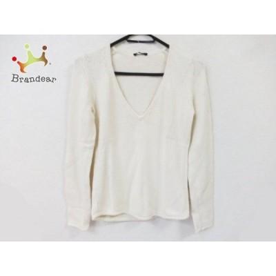 セオリー theory 長袖セーター サイズ2 S レディース 白   スペシャル特価 20200728