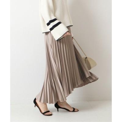 スカート ≪一部店舗+WEB限定予約≫サテンラッププリーツスカート6◆