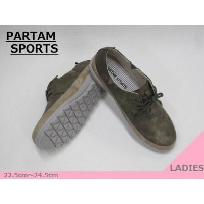 SALE / PARTAM SPORTS パータムスポーツ 7100 スリップオン Laカジュアル KHAKI/OK 22.5cm〜24.5cm <20%OFF>