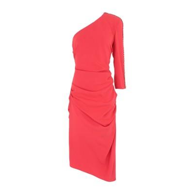 ELISABETTA FRANCHI ミニワンピース&ドレス レッド 46 ナイロン 84% / ポリウレタン 16% ミニワンピース&ドレス