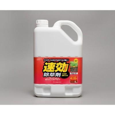 アイリスオーヤマアイリスオーヤマ 速効除草剤 4L SJS-4L 1箱(4個入) (直送品)