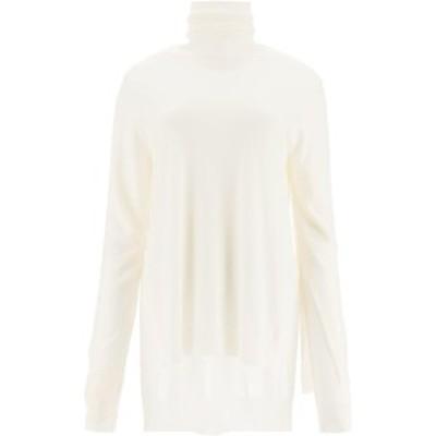 MARNI/マルニ ニット STONE WHITE Marni double layer turtleneck sweater レディース DVMD0100Q0FW577 ik