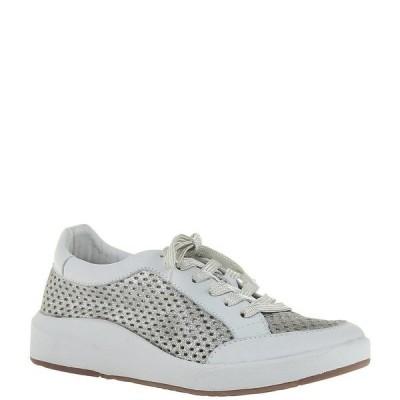 オーティービーティー レディース サンダル シューズ Forever Joyce Perforated Leather Sneakers Grey Silver
