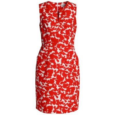 ミリー MILLY ミニワンピース&ドレス レッド 10 コットン 100% ミニワンピース&ドレス