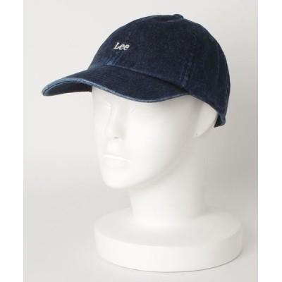 Lee / デニム ロゴキャップ WOMEN 帽子 > キャップ
