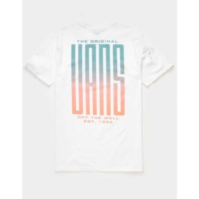 ヴァンズ VANS メンズ Tシャツ トップス Stretched T-Shirt WHITE