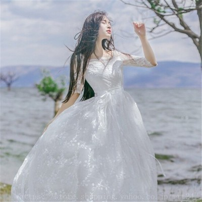 マキシワンピースシフォンワンピースドレスマキシ丈ワンピース通勤結婚式白ホワイト春ロングノースリーブマキシワンピワンピースレディース