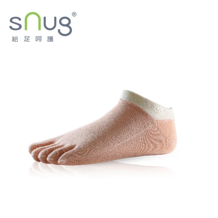 【Snug-直營 五趾船襪】 趾縫乾爽除臭襪 / 多段尺寸 / 腳後跟Y型定位 / 服貼合腳 / 不鬆脫滑落 / 船型襪