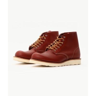 ブーツ REDWING (レッドウィング) CLASSIC WORK ROUND TOE(クラシックワーク ラウンド トゥー) 8166