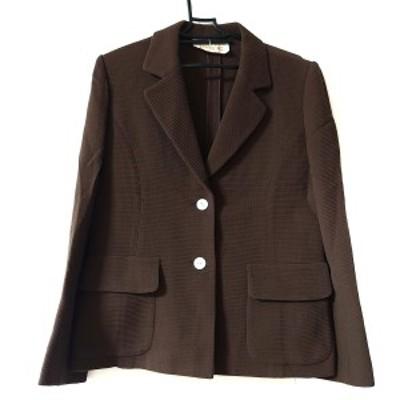 ハロッズ HARRODS ジャケット サイズ2 M レディース - ダークブラウン 長袖/春/夏【中古】20210324