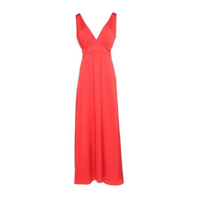 ノリータ NOLITA ロングワンピース&ドレス レッド 40 ポリエステル 100% ロングワンピース&ドレス