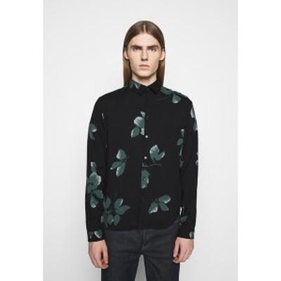 ザ・クープルス メンズ シャツ トップス Shirt - black/green black/green
