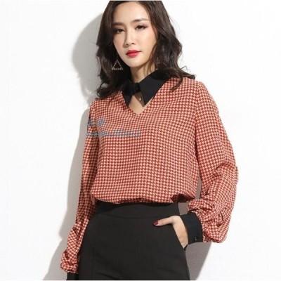 シャツ おしゃれ 20代 体型カバー 無地 フォーマル レディース 大人可愛い ブラウス 40代 30代 韓国ファッション シンプル