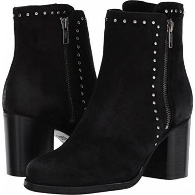 フライ レディース ブーツ FRYE Women's Addie Stud Double Zip Boot Round Toe - 76617-Blk