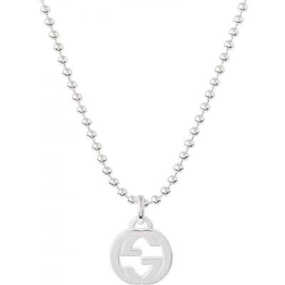 グッチ Gucci レディース ネックレス ジュエリー・アクセサリー GG sterling silver necklace