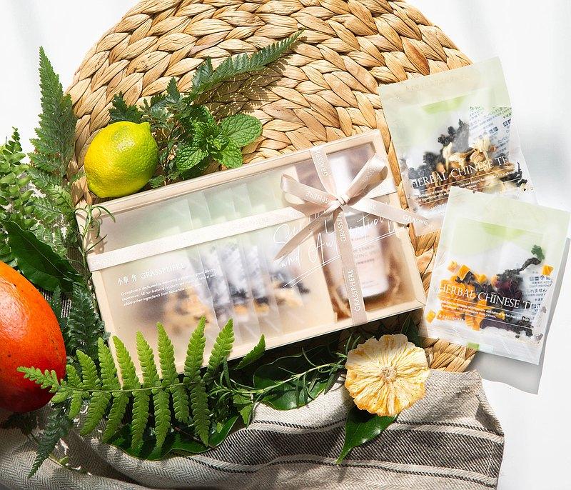 【防疫免運禮盒】健康防護禮 | 檸檬清潔噴霧+沁涼果茶