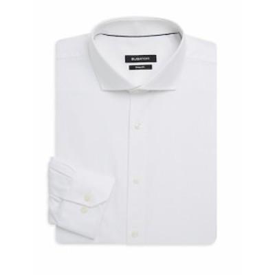 ブガッチ Men Clothing Shaped-Fit Cotton Dress Shirt