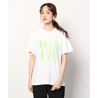 tシャツ Tシャツ ROLLA'S CELLOPHANE TOMBOY TEE WHITE (ローラス )(ホワイト)(Women's)(Tシャツ)